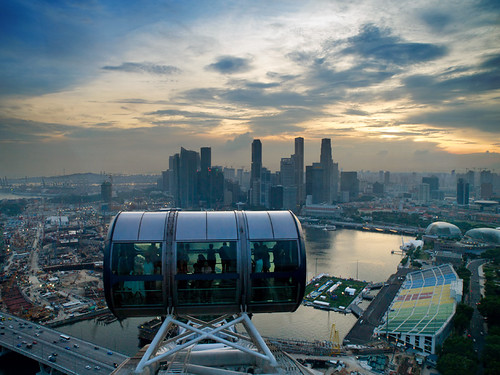 A View from Singapore Flyer