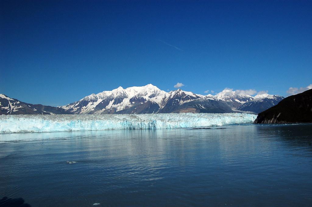 Wide View of Hubbard Glacier
