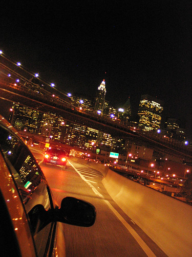 FDR Expressway at night