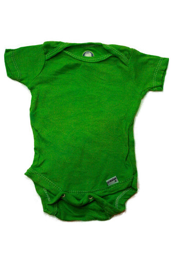onesie green