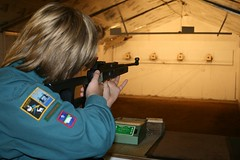 20081017 Scouts at Twickenham Rifle and Pistol Club