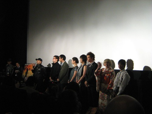 [Tokyo International Film Festival] Directors and cast members at the world premiere of KILL