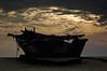 Wishing for a monsoon break (DSC6580) (Fadzly @ Shutterhack) Tags: beach silhouette d50 season boat nikon marine cloudy sandy nikond50 monsoon malaysia terengganu kualaterengganu nikonstunninggallery tokjembal shutterhack sigma70200mmf28exdghsmapo