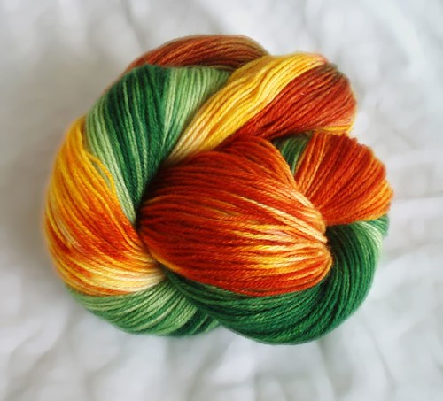 etsy green and orange