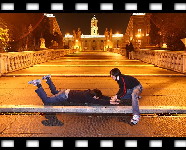 羅馬夜景_人物合影_05