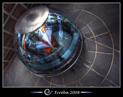 Time pod - Eiffel Tower, Paris, France :: HDR (Erroba) Tags: city blue red orange paris france photoshop canon ball rebel belgium eiffeltower cyan sigma tips 1020mm erlend hdr cs3 3xp photomatix tonemapped tonemapping xti metalglass excellentcapture 400d timepod erroba robaye erlendrobaye