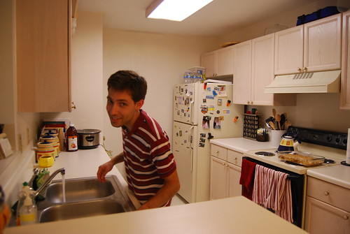 Paul in the kitchen