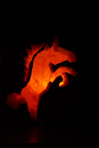 Unicorn Pumpkin Carving Ashley Carved a Unicorn With a