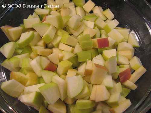 Election Day Pie: Apples