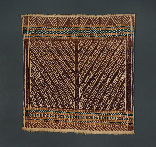 //Tampan//, Paminggir people. Sumatra 19th century, 44 x 47 cm. From the library of Darwin Sjamsudin, Jakarta. Photograph by D Dunlop.
