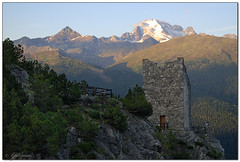 Torre di Fraele - Cancano (galimau86) Tags: mountain alps tower sunrise nikon d200 nikond200 cancano 1870mmafsdx