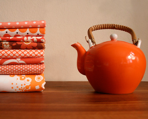 Orange Tea Pot / ♥rashida coleman-hale♥
