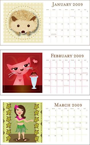 working on a calendar