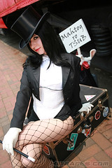 zatanna (A_Riddle) Tags: dc costume cosplay batman fishnets jlu dccomics justiceleague riddle zatanna dcomics lafiel