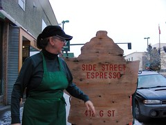 Deb Seaton of Side Street Espresso
