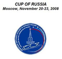 2008年フィギュアスケートGPシリーズ ロシア杯 cup of russia