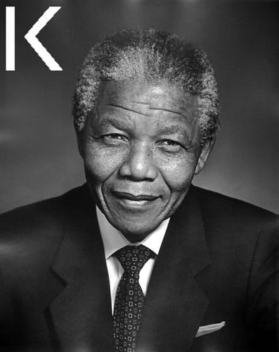 Nelson Mandela by Festival Karsh