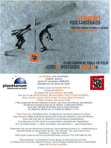 Voix Carcerales au Planetarium de Vaulx en Velin 3044881243_6cdae3ec4c