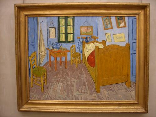 El dormitorio de Van Gogh en Arles (1888)