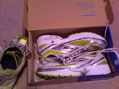 New running kickers