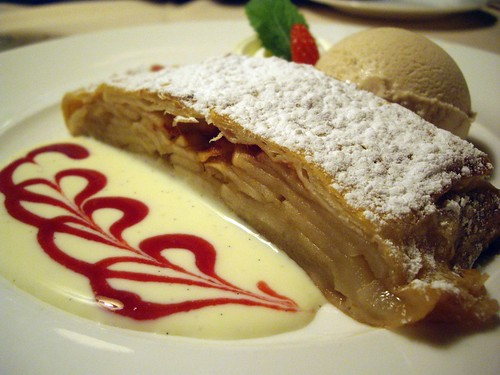 Apple Strudel at Handke's