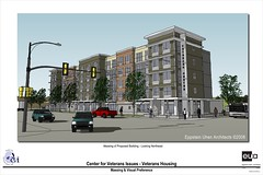 CVI Veterans Home Drawing of Proposed for 1st St. & Lincoln Ave.