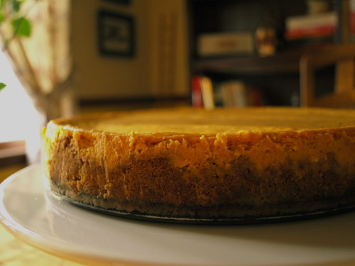 Katherine's pumpkin cheesecake
