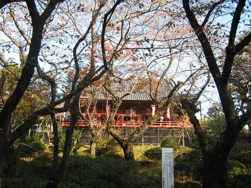 Kiyomizu Kannondo Temple at Ueno Park