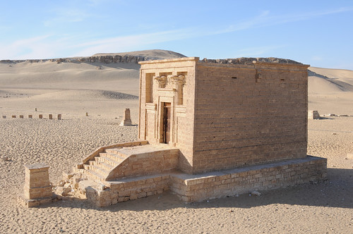 Tuna el Gebel - Tomb in the Graeco-Roman necropolis | Flickr ...