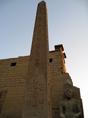 Luxor Temple / Upper Egypt () Tags: africa vacation holiday art statue architecture temple design ancient ruins tour desert northafrica 911 pillar egypt brickwall obelisk desierto column publicart egipto september11 luxor ramadan obelisco rtw gypten egitto vacanze hieroglyphs thebes ramsesii egypte wste roundtheworld ancientegypt afrique dsert  hieroglyph antiquities globetrotter northernafrica luxortemple eastbank   runis templeofluxor  gyptien 19thdynasty worldtraveler upperegypt aluqsur  privatetour  egyptische qina avenueofsphinxes gypter     iptrsyt  desertumafricanum