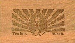 Tenino Wooden Money back