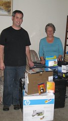 Jake Ludington with HP Magic Giveaway winner Elaine Jordan
