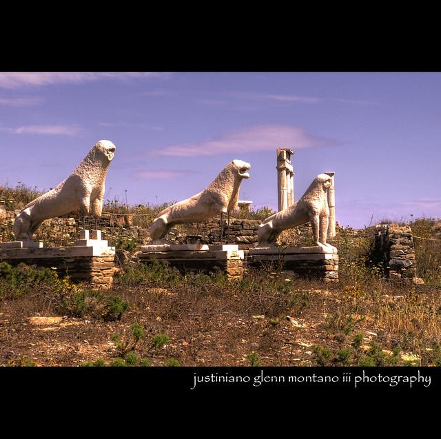The Lions' Terrace in Delos