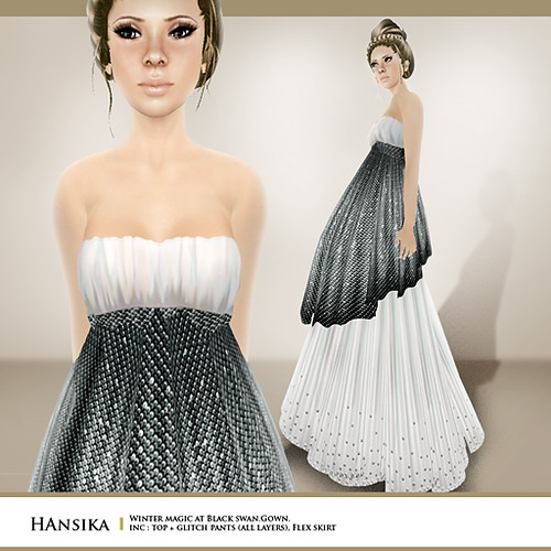 Zaara : Hansika (inspired by winter at black swan)