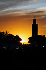 Jama'a el-Fnaa Sunset (Fiurix) Tags: marocco jama'aelfnaa platinumheartaward