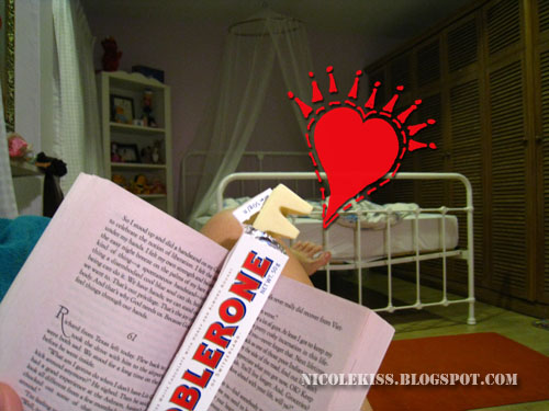 toblerone in book