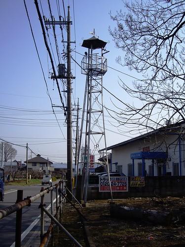 亀ヶ谷の火の見櫓