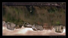 Vuelo sobre una realidad invertida (Emilio Surez) Tags: rio river galicia inversion pontevedra reflejos verdugo pentaxk10d emidigital pontesampaio