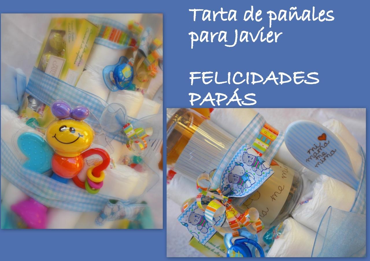 TARTA DE PAÑALES PARA JAVIER mol