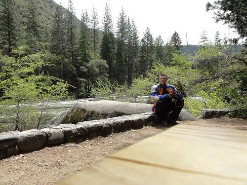 By Yosemite entrance