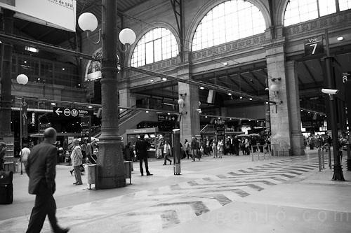 Paris Gare du Nord Eurostar station