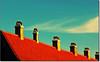 Come Se Fosse... (rogilde - roberto la forgia) Tags: travel roof light sky italy clouds canon copenhagen italia nuvole tetto comignolo vision cielo danish luci colori luce italians comignoli diagonale danimarca visione mygearandme mygearandmepremium infinitexposure