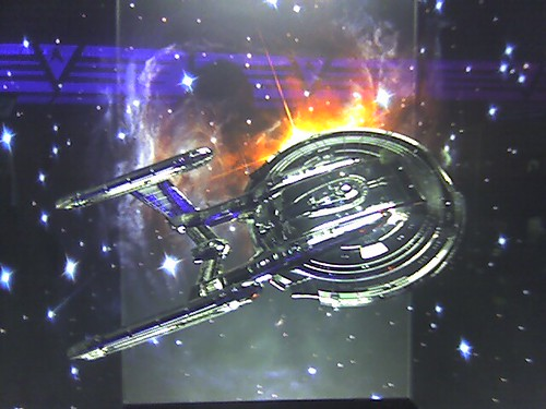 Star Trek - Silver Enterprise NX01