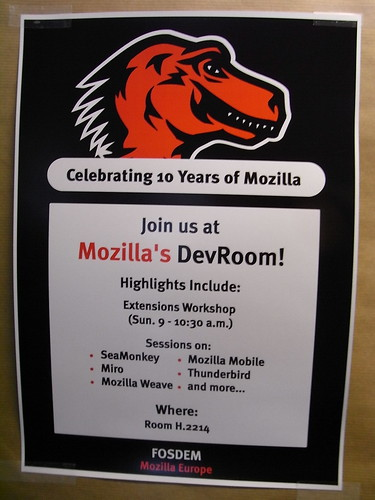 Mozilla poster @ FOSDEM