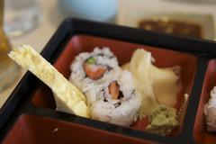 Wintergrass Lunchtime Sushi. Fujiya in Tacoma Washington - 18 (Old Timey Dave) Tags: sushi ginger washington downtown maki tofu foodporn tacoma wasabi fujiya
