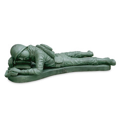 Army Man Napping (monica_vandendool) Tags: 2003 sculpture earthenware coilbuilt cone04 ceramics:glazing=electricoxidation electricoxidation ceramics:material=earthenware ceramics:object_type=sculpture ceramics:temperature=cone04 ceramics:date=2003 ceramics:height=15 ceramics:technique=coilbuilt ceramics:width=20 ceramics:artist=monicavandendool monicavandendool ceramics:title=armymannapping armymannapping ceramics:depth=51 accessceramics accessceramics:height=15 accessceramics:technique=coilbuilt accessceramics:temperature=cone04 accessceramics:glazing=electricoxidation accessceramics:material=earthenware accessceramics:object_type=sculpture accessceramics:date=2003 accessceramics:artist=monicavandendool accessceramics:width=20 accessceramics:depth=51 accessceramics:title=armymannapping
