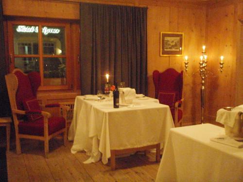 Restaurante St. Hubertus - Hotel Rosa Alpina (San Cassiano)
