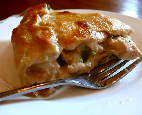 Chicken N Leek Pie