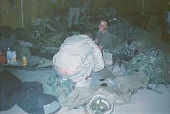 Spike's Ass (hcock45) Tags: usmc infantry john war tank iraq marines kuwait hancock fighting joking missle m16 launcher prisoners at4 surreender