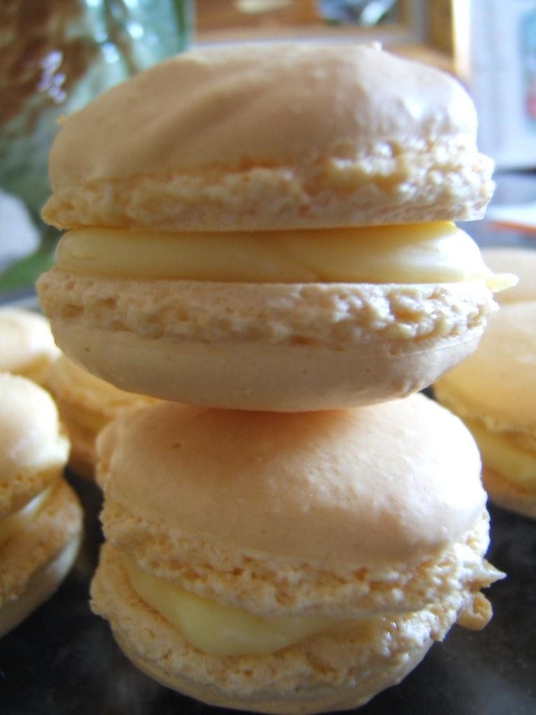 recette macarons au citron la cuisine de martine